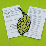 Hops Patch Iron on Instruction