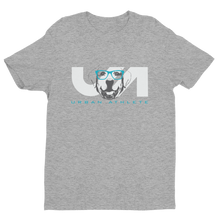 Big Grey Dog Short Sleeve T-shirt