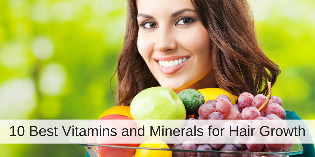 10 Best Vitamins and Minerals for Hair Growth