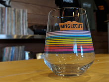 SingleCut Beersmiths Rainbow Record Stemless Glass