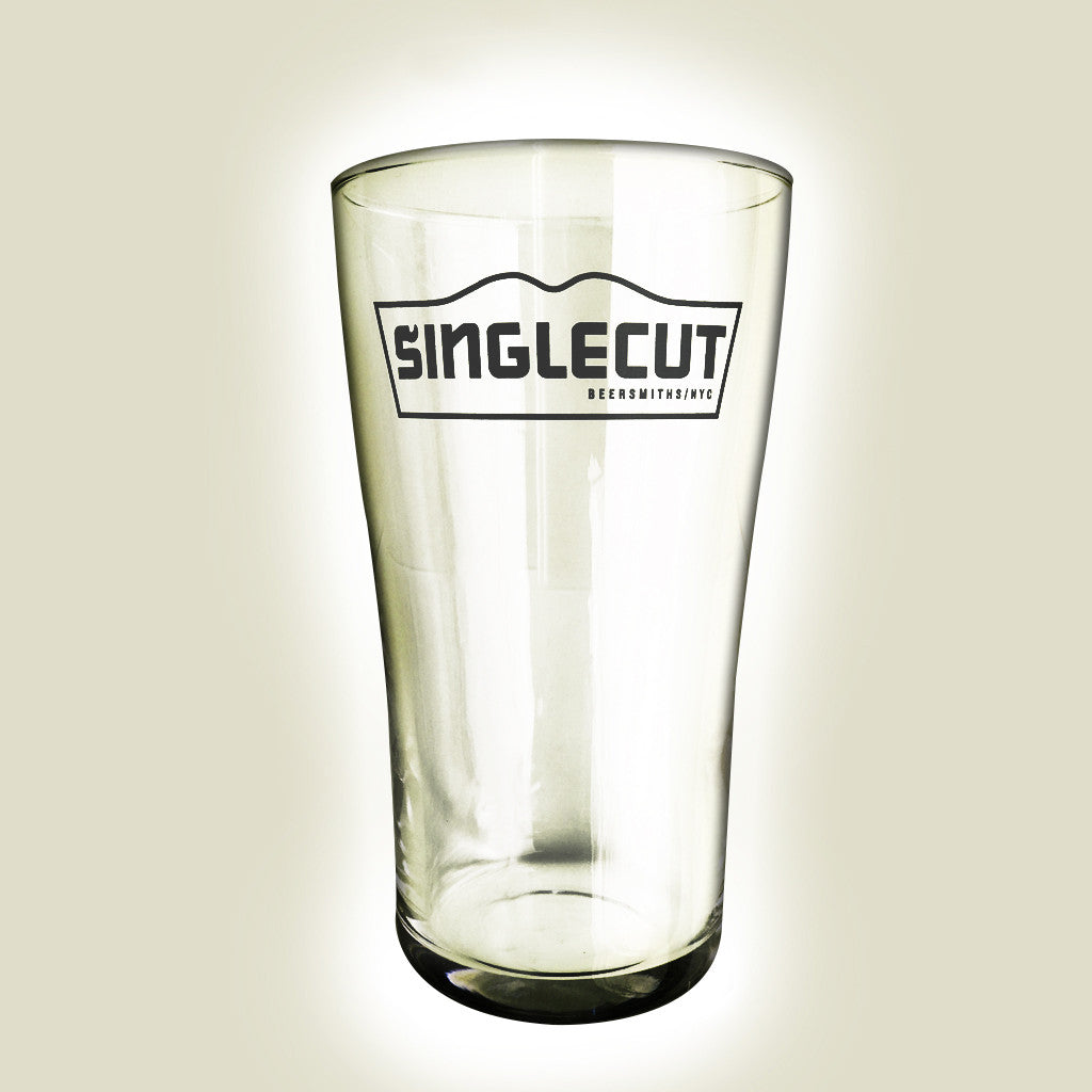SingleCut Beersmiths Pint Glass