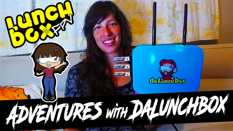 DALUNCHBOX V2 ADVENTURES WITH SAMUS FPV