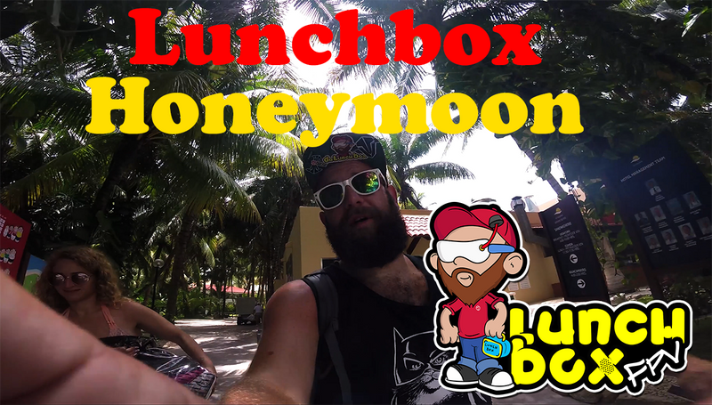 A Lunchbox Honeymoon with My New Wife!