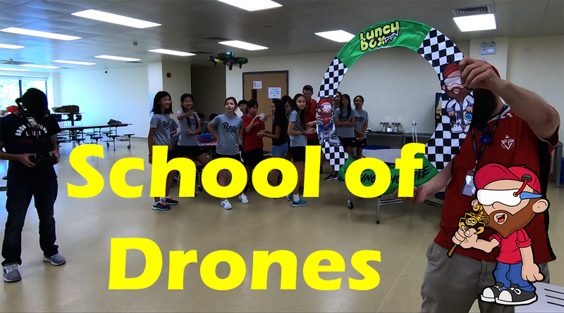 The School of Drones - China