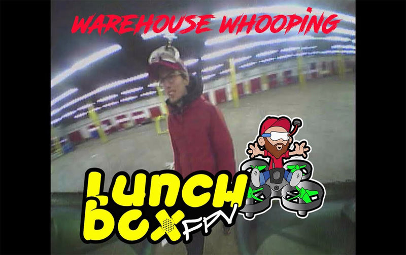 Warehouse Whooping With Team Canada FPV!