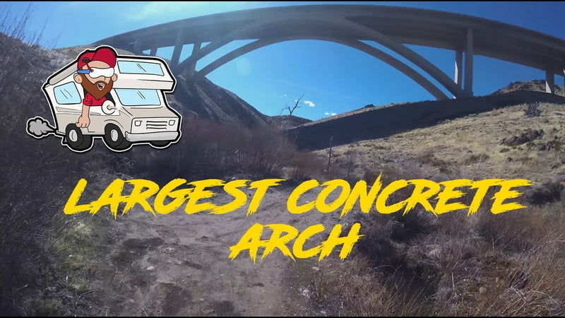 Largest Concrete Arch in America
