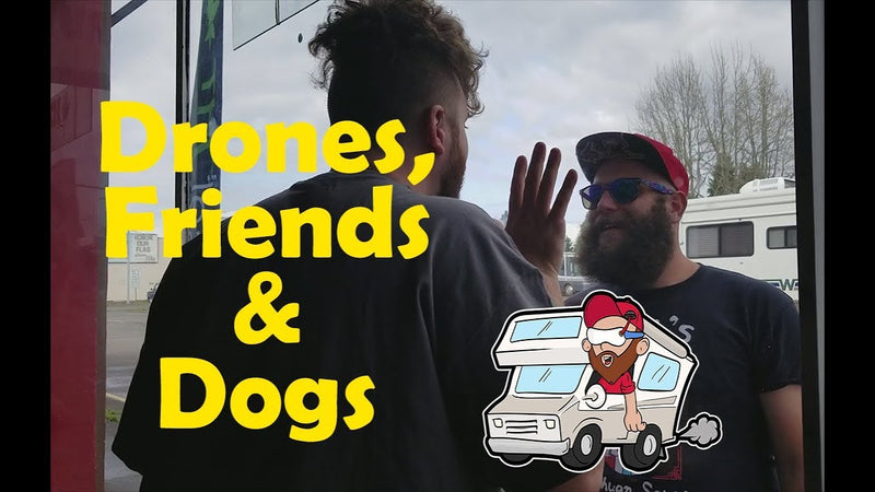 Drones, Friends & Dogs