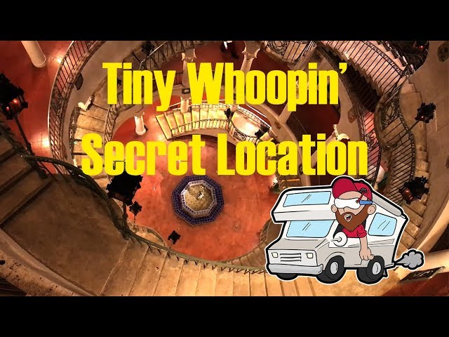 Tiny Whooping the Mission Inn in Calfifornia