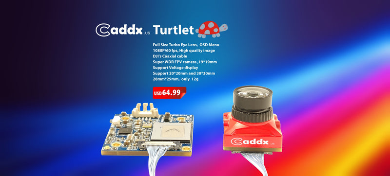 Turtlet Caddx FPV Camera