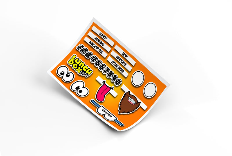 Pimp my whoop sticker sheet