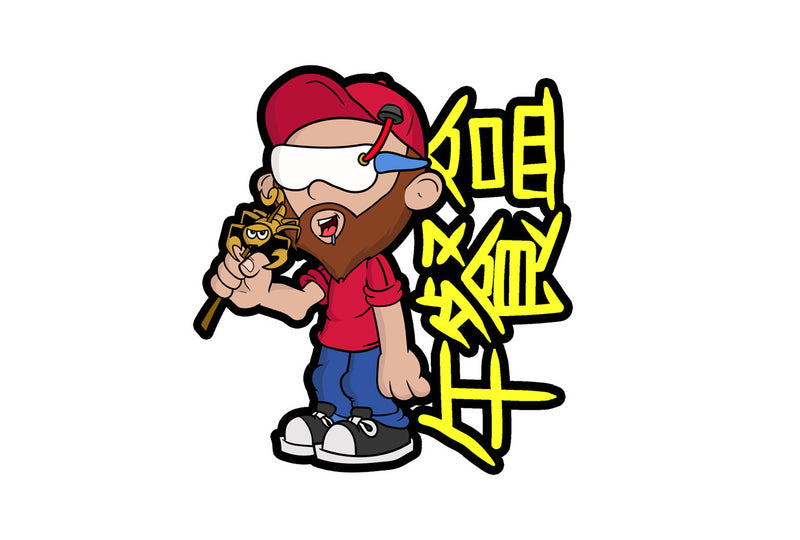 Scorpion China sticker
