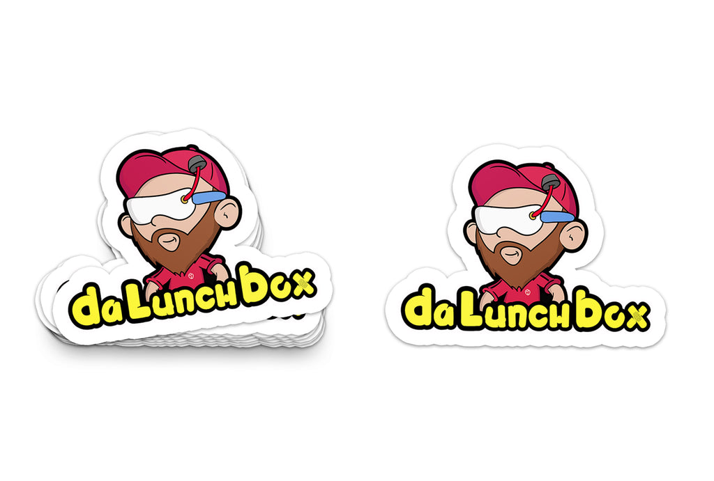 Da Lunchbox Large Sticker