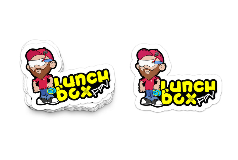 Lunch Street  Sticker