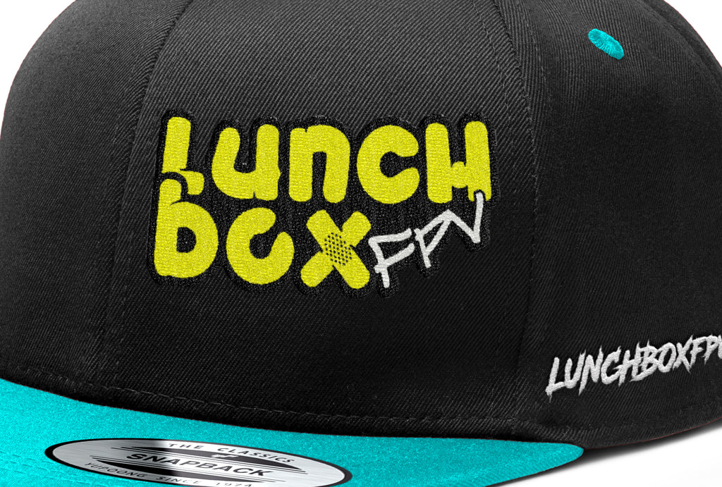 Black/Teal LunchboxFPV LID