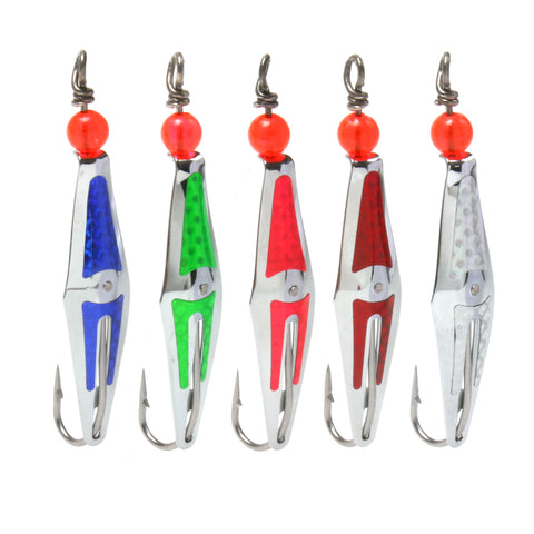 Assorted Flashpoons - 0RBMF-5PK - Clarkspoon Fishing Lures