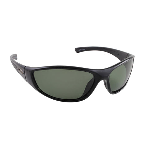 Sea Striker Pursuit Sunglasses - 0240 - Black Frame / Grey Lens