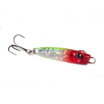 Big Eye Jig 1oz - Red Head/Silver - BEJ1-RH/SIL