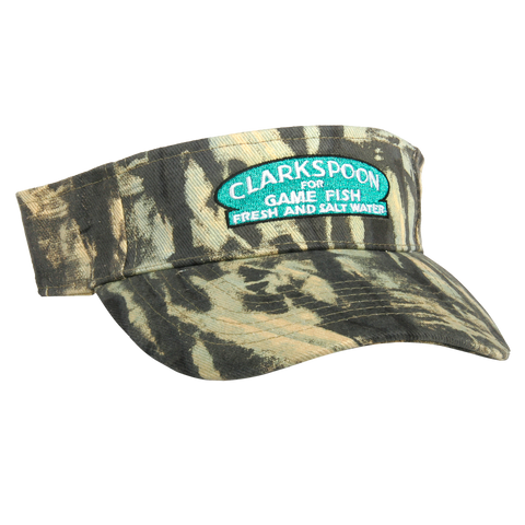 Clarkspoon Camo Visor - Clarkspoon Fishing Lures