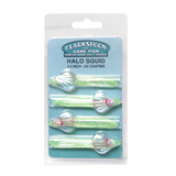 "Halo Squid CSFS25-CH Chartreuse 2.5"" - 4 Pack"