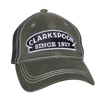 Clarkspoon Weathered Cotton Hat - Clarkspoon Fishing Lures