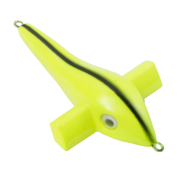 "Sea Bird 5"" - Chartreuse Yellow  SB-FY - Clarkspoon Fishing Lures"