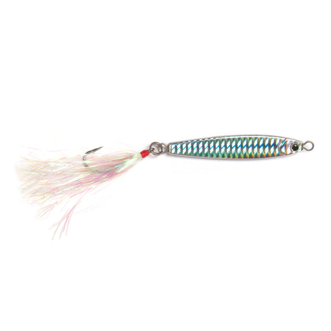Stick Jig 1.5oz Single Hook - SJ15SH-SIL - Silver - Clarkspoon Fishing Lures