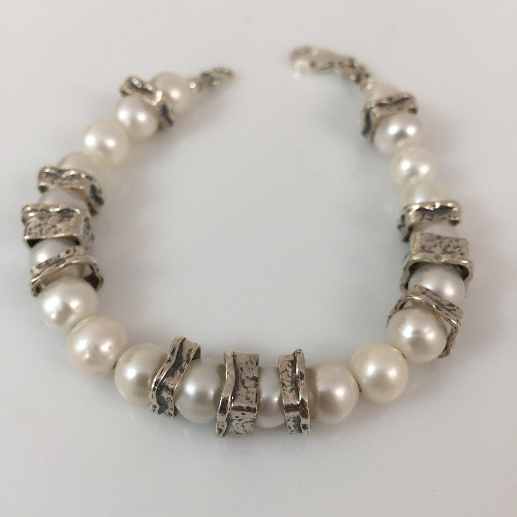 large stacking fullxfull freshwater pearl hole jewelry il beach for gifts bracelet p under her style