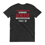 Resurgence Phys. Ed OPEN ATHLETE Anvil Soft Tri-Blend Core Colors Unisex Short sleeve t-shirt