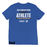 Resurgence Phys. Ed OPEN ATHLETE Alternate Bright Tri-Blend Colors Unisex Short sleeve t-shirt