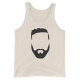 Robby Face Men's (Unisex) Tank Top (with small RD logo on back)