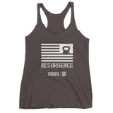Resurgence Kettlebell Flag Women's Tank Top (front print only)