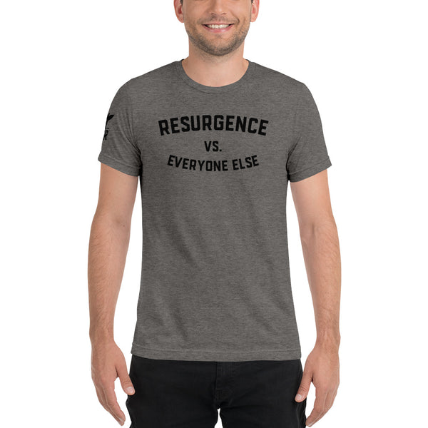 Resurgence vs. Everyone Else Tri-blend Shirt