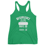 Resurgence Phys. Ed Gym Class Women's Tank Top (front print only)