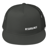 RESURGENCE 5-Panel Snapback Trucker Cap (3 colors available)