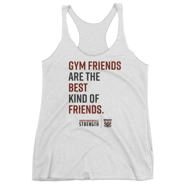Gym Friends are the Best Women's tank top