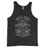 Tacos & Tequila 2017 Jersey Tank Top (Bella + Canvas 3480)