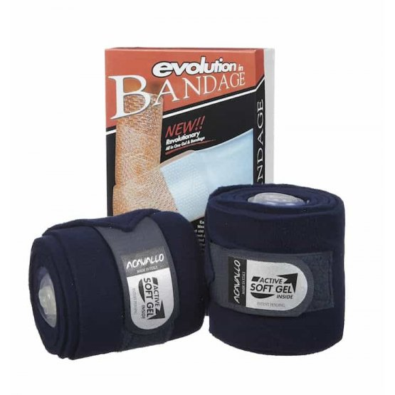 Acavallo Gel Fleece Leg Bandages