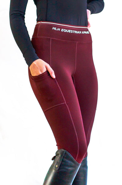 HLH Equestrian Apparel Luxury Schooling Leggings