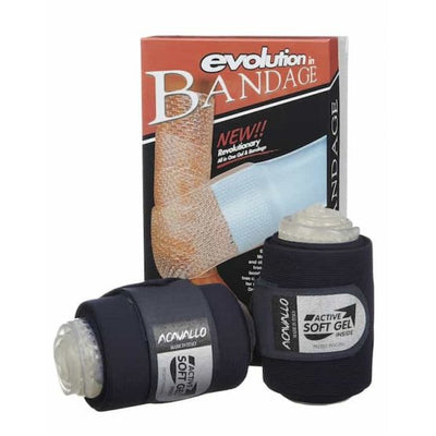 Acavallo Gel Elastic Leg Bandages