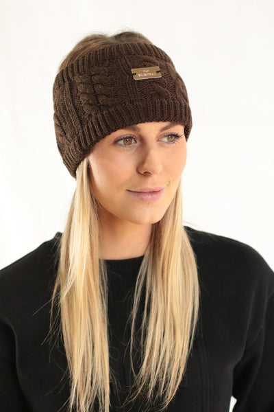 HLH Equestrian Apparel Luxe Winter Headband