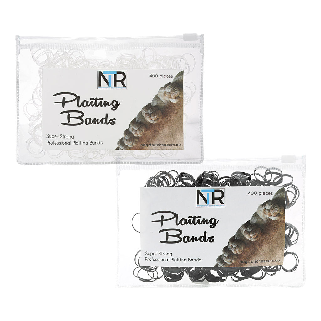 NTR Plaiting Bands 400pc