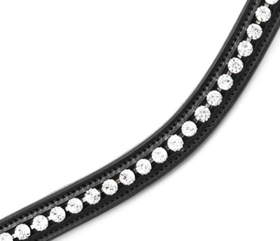 Premier Equine Bellissima Shaped Diamante Browband