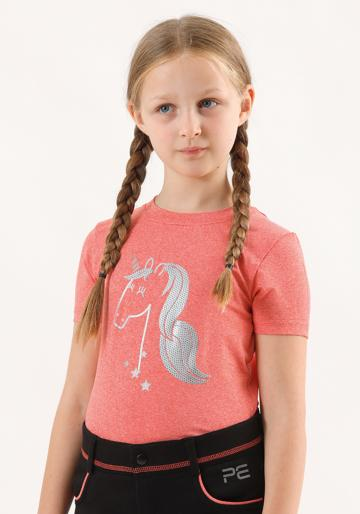 Premier Equine Simba Kids Short Sleeved Riding Top