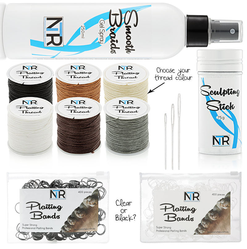 NTR Standard Plaiting Kit - Black