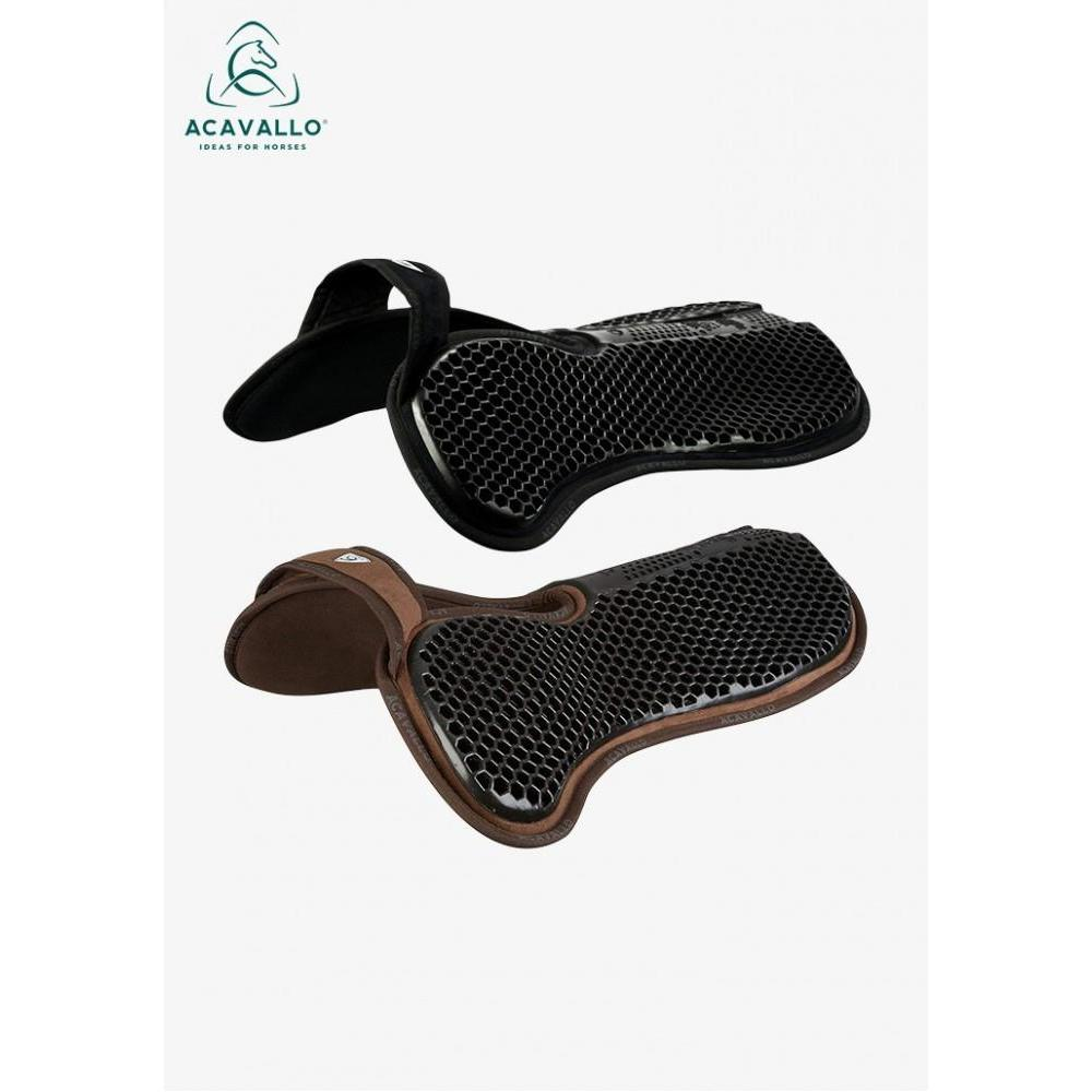 Acavallo Wither-Free Hexagonal Gel Memory Foam Pad-Half Pad-Southern Sport Horses