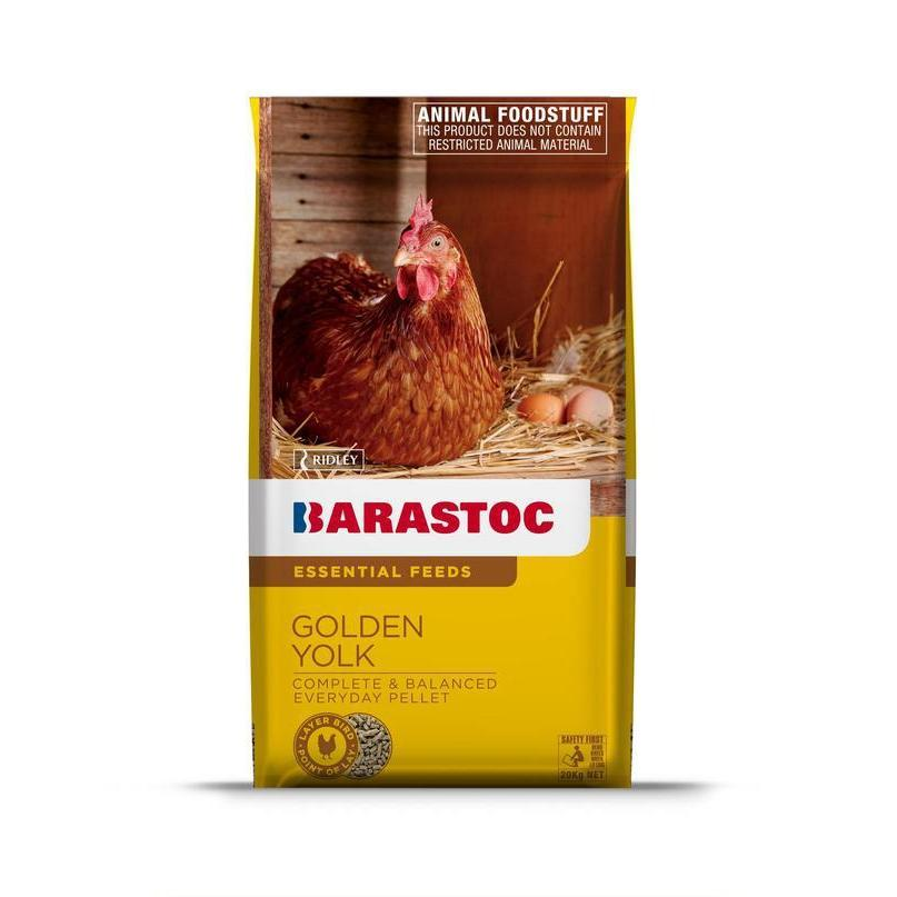 Barastoc Golden Yolk 20kg-Chicken Feed-Southern Sport Horses