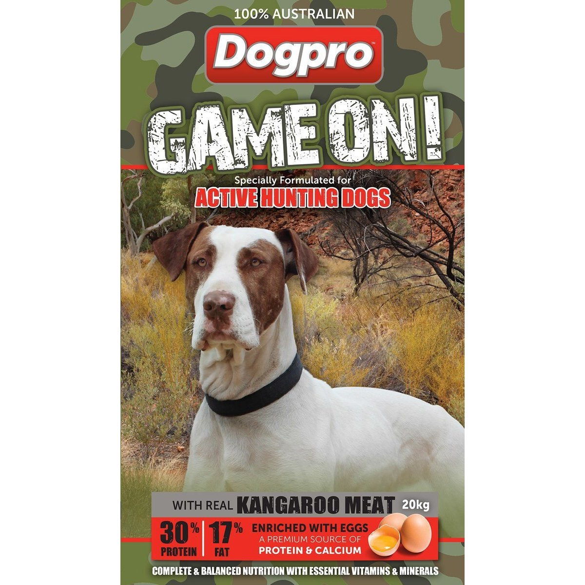 Dogpro Game On 20kg-Dog Food-Southern Sport Horses