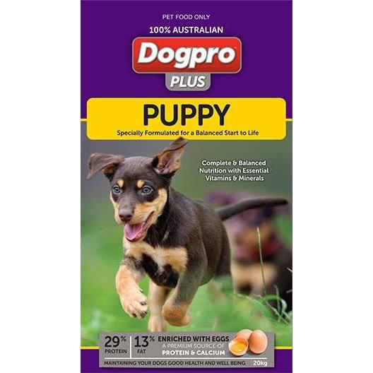 Dogpro Plus Puppy 20kg-Dog Food-Southern Sport Horses