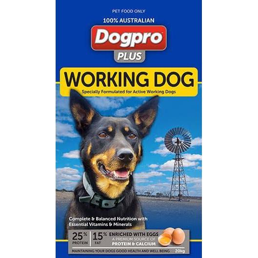 Dogpro Plus Working Dog 20kg-Dog Food-Southern Sport Horses