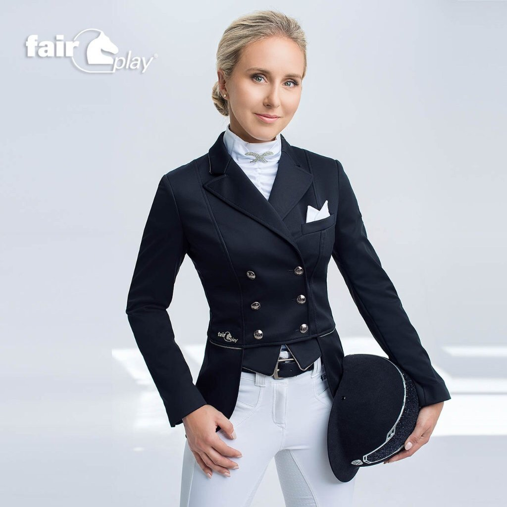 Fair Play Beatrice Softshell Mini Tails-Show jacket-Southern Sport Horses